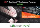 3M™ Dual Lock™ SJ3540 Reclosable Fastener Heavy Duty VHB Adhesive BLACK 25mm