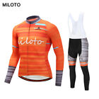 Miloto Outdoor Sports Long Sleeves Cycling Jersey Spring Autumn CyclingClothing
