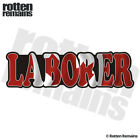 Laborer Decal Canada Canadian Flag Hard Hat Gloss Sticker HVG