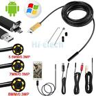 2M/5M/10M Android Endoscope Waterproof Inspection Camera USB Video Camera US