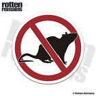 No Rats Union Decal Labor Scabs Rat Hard Hat Helmet Gloss Sticker HVG