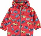 Name it mini Jungen Übergangsjacke Kinderjacke NMMMellon Auto rot Regenjacke