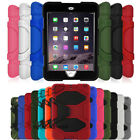 "For Apple iPad Mini 1 2 3 Shockproof Heavy Duty Stand Cover ""Waterproof"" Case"