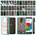 For LG Stylus 2 Plus Stylo 2 Plus MS550 K550 Hybrid TPU bumper Case Cover + Pen