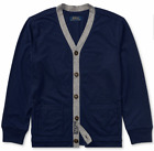 Polo Ralph Lauren Boys French Navy Jersey Buttoned Cardigan Sweater