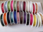 GORGEOUSLY GROOVY Grosgrain Ribbon - 22mm Var cols/lengths **CLEARANCE STOCK**