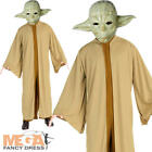 Yoda Mens Fancy Dress Star Wars Jedi Scifi Film Movie  Alien Adults Costume New