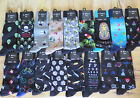 MENS K BELL SOCKS Eye Doctor Gambler Bees Tools Flamingo SOX Sz 10-13 U Pic SALE