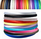 Narrow Satin Hairband 1 CM Hairbands Many Solid Color Hair Jewelry Headpiece
