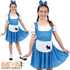Country Dorothy Fancy Dress Girls Fairy Tale World Book Day Childs Kids Costume