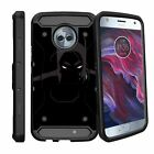 For Motorola Moto X4 | Moto X 4th Gen XT1900 (2017) Clip Case with Kickstand