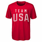 Team USA Olympic Winter Games Men's Athletic Tee Shirt
