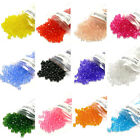 Lot of 500 Plastic Acrylic 6mm Faceted Round Spacer Beads Many Colors To Choose