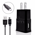 HTC Phones USB 3.1 Amp Wall Charger+Fast Charging Cable BLCK