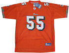 Miami Dolphins JUNIOR SEAU Jersey XL NWT NEW Reebok Replica Orange Alternate