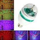 3W E27 RGB Crystal Ball Rotating LED Stage Light Bulb for Club DJ Disco Party #D