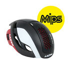 Lazer BULLET MIPS Road Bicycle Racing Cycling Bike Aero Helmet : BLACK WHITE RED