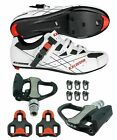 EXUSTAR SR493B SPD SL Look Road Bike Bicycle shoes VENZO Sealed Pedals