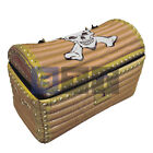 Inflatable Fancy Dress Party Accessory Giant Pirate Treasure Chest
