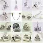 Authentic Solid 925 Sterling Silver Charms O fit European Bead Charm Bracelets