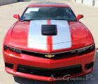 Rally Racing Stripes OE Style Vinyl Graphic Decals Pro 3M for 2014 Camaro SS