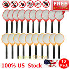 10XCordless Rechargeable Bug Zapper Mosquito Insect Electric Fly Swatter Racket