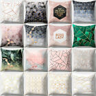 45X45CM Sofa Bolster Covers Geometric Pattern Home Cushion Cover Bed Pillow Case