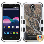 TUFF Hybrid Protector Cover [Military-Grade Certified] for ZTE Z820 (Obsidian)