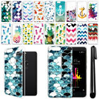 For ZTE Blade Z Max Z982 Sequoia Pineapple Clear Soft Gel TPU Case Cover + Pen