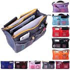 Women 13 Pocket Large Travel Insert Handbag Tote Organizer Tidy Bag Purse Pouch