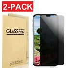Privacy Anti-Spy Tempered Glass Screen Protector Film for iPhone X 5 6 7 8 Plus