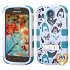 TUFF Hybrid Protector Cover (with Stand) for SAMSUNG T399 (Galaxy Light)