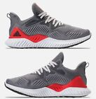 ADIDAS ALPHABOUNCE BEYOND MEN's RUNNING GREY - WHITE AUTHENTIC NEW IN BOX US SZ