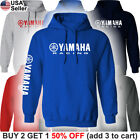 Yamaha Factory Racing Hoodie Sweat Shirt Hooded Motorcycle Team Motorsport Sport