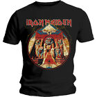 IRON MAIDEN T-Shirt Powerslave Lightning All Sizes NEW OFFICIAL Logo Aces High