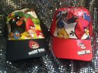 CHILDRENS HAT BASEBALL CAP STYLE ANGRY BIRDS  ADJUSTABLE FREE SHIPPING IN USA