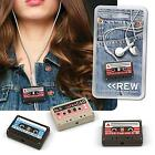 Headphone Earphone Cable Winder, Cassette Tape For iPhone Samsung Galaxy Android