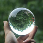 Magic 30-40mm Clear Crystal Ball Sphere Glass Table Decor Healing Sphere Props