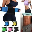Unisex Waist Cincher Training Corset Underbust Body Shaper Belt Sport & B20E 01