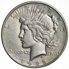 Early 1922-D Peace Silver Dollar - 90% Silver - US Coin *961