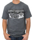 Harley-Davidson Mens Harley Impact 1903 Motorcycle Grey Short Sleeve T-Shirt