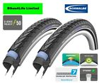 Schwalbe Marathon Plus Touring Rigid Road Bike Tyre 26 x 1.75 Tube Option