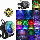ROTATING SOUND EFFECT Disco Ball Dance Home Party Bands KTV Club Stage Lights #F