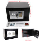 "14"" 9"" Digital Safe Box Keypad Lock Cash Gun Jewelry File Home Office Hotel US"