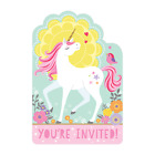 MAGICAL UNICORN Birthday Party Tableware, Banners, Balloons & Decorations