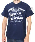 Harley-Davidson Mens Clean Chrome Engine Navy Short Sleeve T-Shirt
