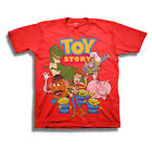 Toy Story Youth Boys Tee Shirt Red