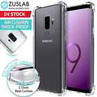 US Samsung Galaxy S9 / S9 Plus Clear Shockproof Case TPU Rubber Silicone Cover