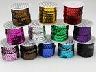 Внешний вид - 5 Yards 6mm Flat Sequin Sew On Trim Strip Trim Lace Craft Costume Sewing Craft