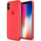 For Apple iPhone X TPU Case Rubber Skin Cover Transparent